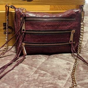LOVELY Rebecca Minkoff Burgundy leather crossbody